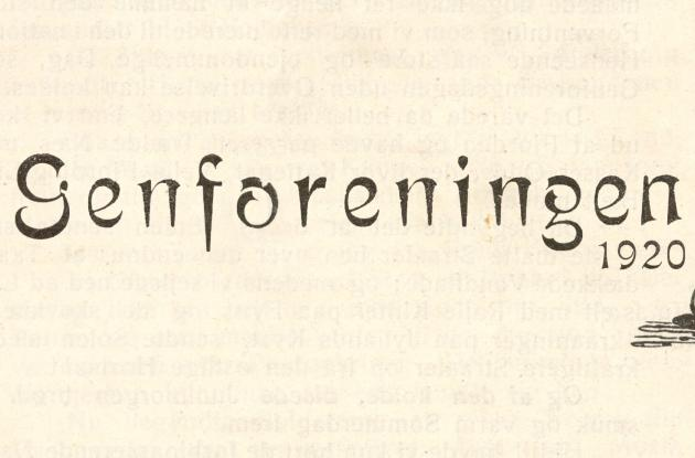 Signature text for the Reunification 1920
