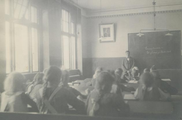 Classroom at Højer School