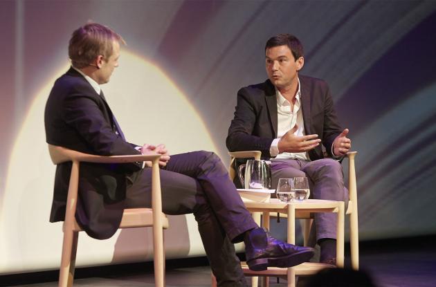 Thomas Pikety i samtale med Rune Lykkeberg