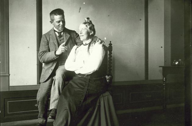 Carl Nielsen and Anne Marie Nielsen