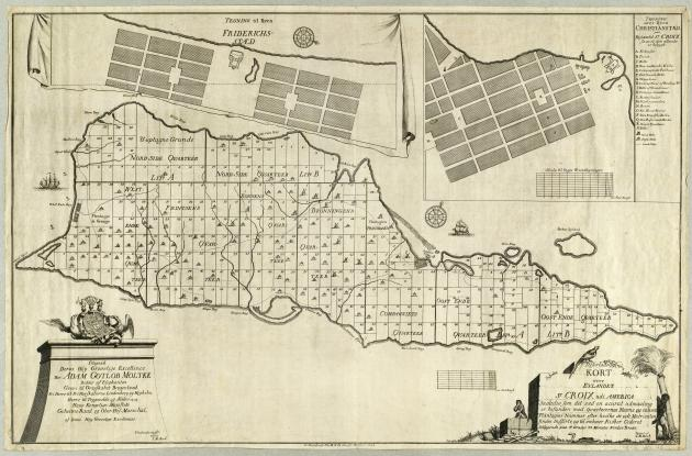 Map of Saint Croix