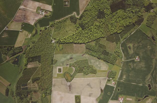 Luftfoto af areal ved Holbæk 1999