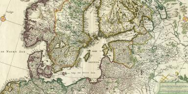 Older maps of parts of Northern Europe
