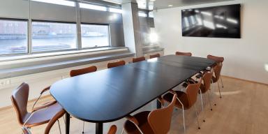 Meeting room Rifbjerg. Interior