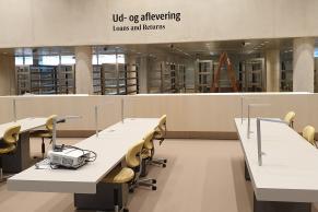 Det Kgl. Bibliotek og Rigsarkivet. Fælles forskningslæsesal