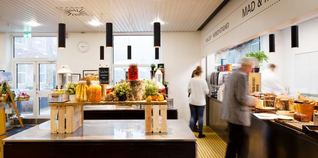 The canteen, Victor Albecks Vej, Aarhus