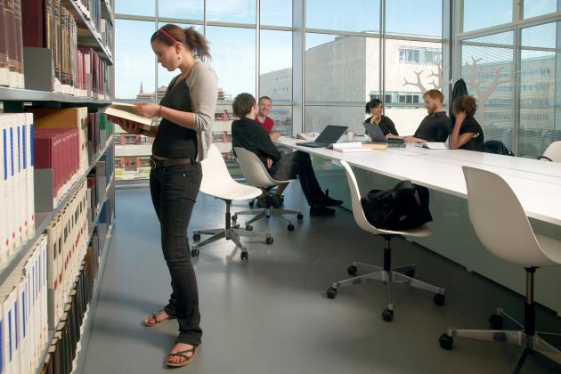 Copenhagen University Library interior