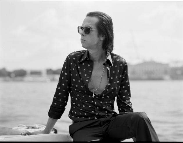 Nick Cave portrait photo