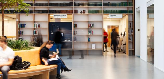 Audience at Bibliotekshaven, Det Kgl. Library, Aarhus
