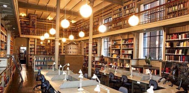 Læsesalen Danmarks kunstbibliotek