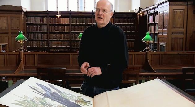Torsten Schlichtkrull talks about the book Birds of America
