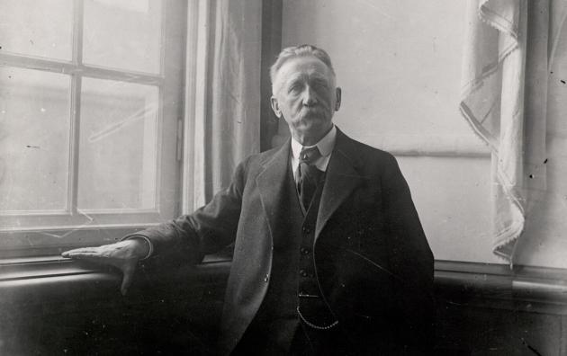 H.P. Hanssen. Redaktør, grænselandspolitiker og minister. Leder af Vælgerforeningen.