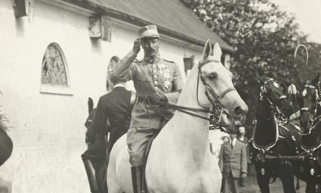 Christian X på den hvide hest