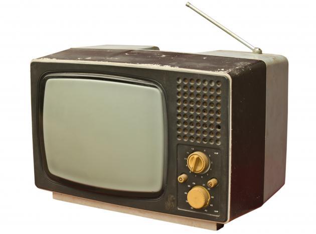 Antikt tv-apparat