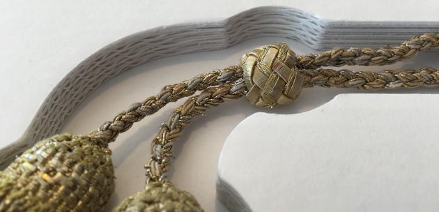 Detalje fra arkivæske med indhold