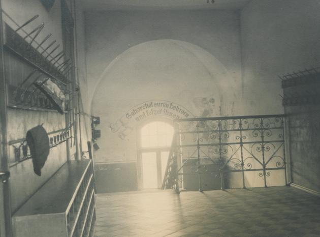 Trappeopgang Højer Skole 1910