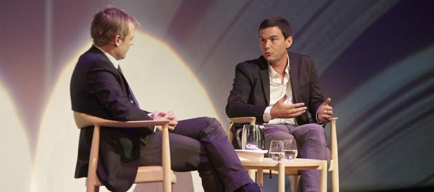 Thomas Pikety in conversation with Rune Lykkeberg