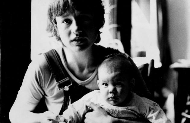 Vibeke Vasbo med datter
