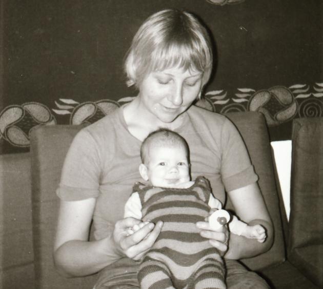 Susanne Schreiner med datter